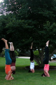 Group Headstand State House