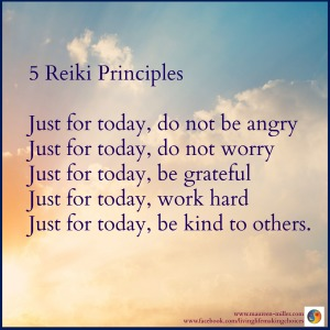 5 Reiki Principles